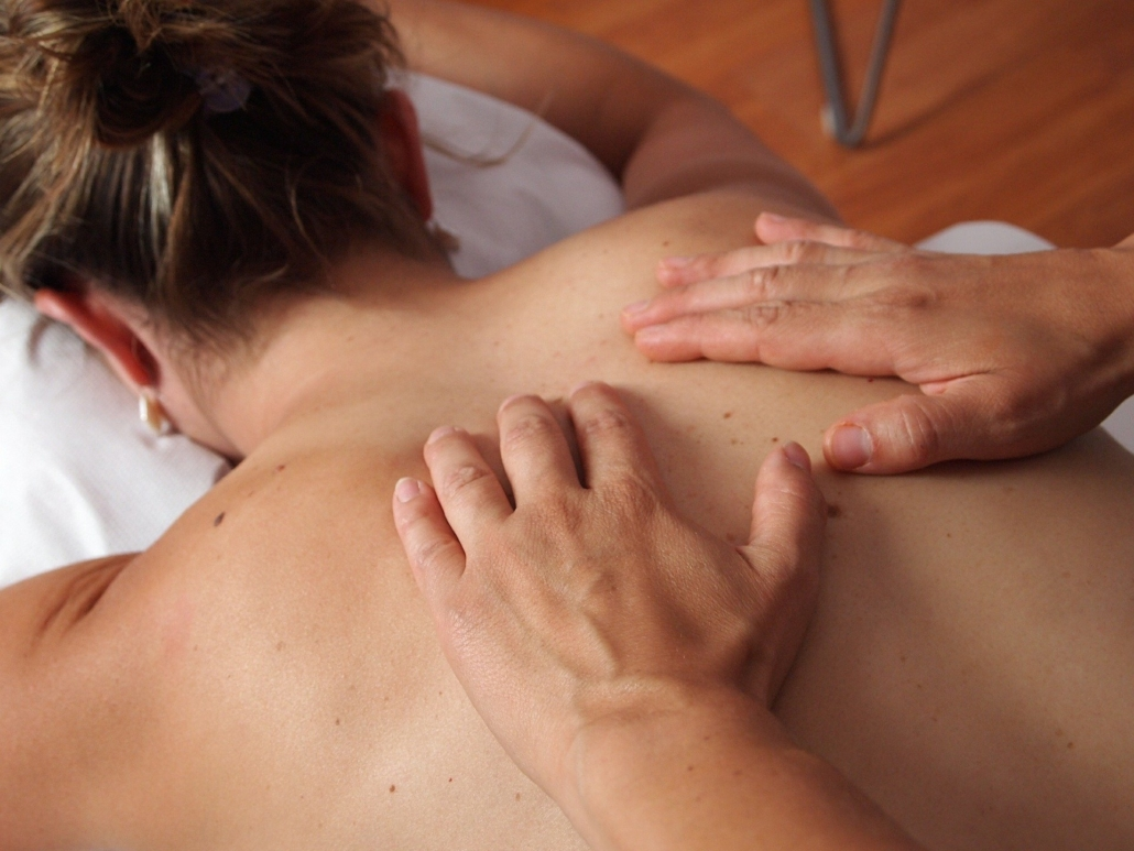 Tuina Massage am Rücken